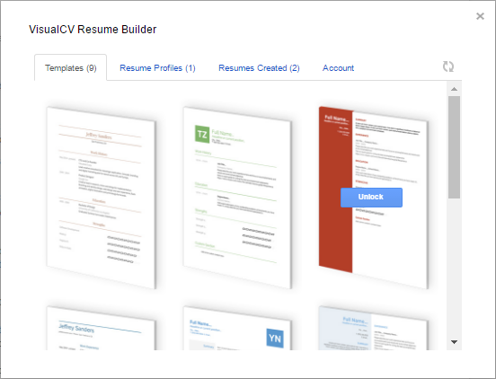 Resume Templates In Google Docs  Resume Templates Google