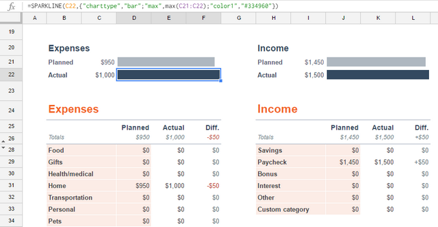 Online Excel has the basics, Google Sheets has advanced options