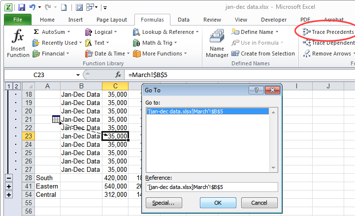 Consolidate in Excel 2010: combine data from multiple Excel worksheets into one