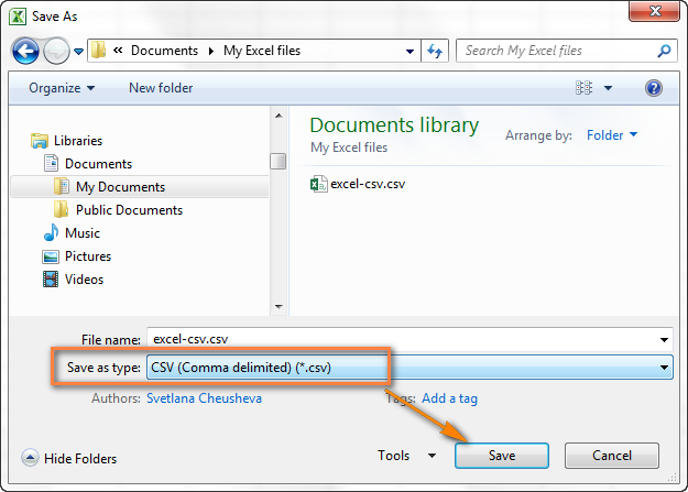 how to convert excel to csv and export excel files to csv