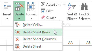 how to get every other row shaded in excel