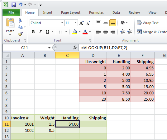 Look up with Lookups in Excel