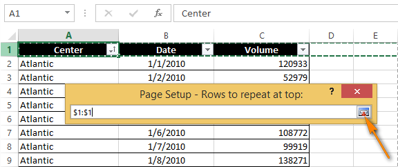 SOLVED Repeating rows at the BOTTOM of the page