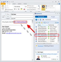 Integrate SharePoint Online and Outlook