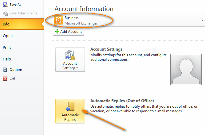 Outlook Auto Reply Set Up Out Of Office Autoresponse In