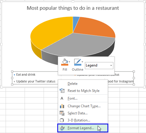 Rotate charts in Excel 2010-2013 - spin bar, column, pie ...