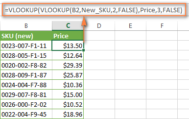 excel-double-vlookup Vlookup Format Examples on college grades, if statement, column matching, formula multiple sheets, index match, formula excel, exact match, two spreadsheets, excel templates,