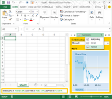 Advanced custom task pane in Excel 2013