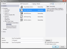 Visual Studio project templates for Office COM add-ins, XLL, RTD servers and smart tags