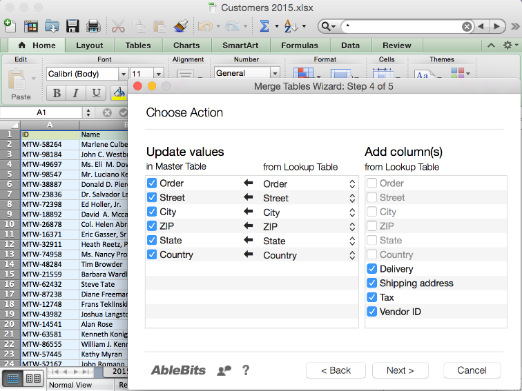 Printables Merge Worksheets In Excel merge two worksheets on mac tables wizard for excel 2011 app combine data with mac