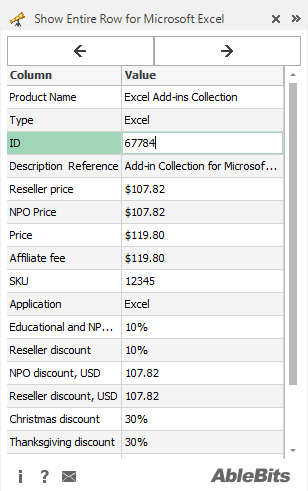 excel how to keep a row from scrolling