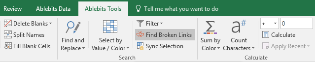 Find Broken Links icon