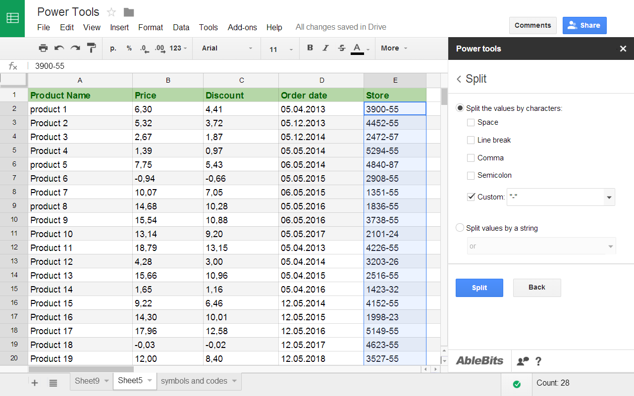Add-ons for Google Sheets - Ablebits.com