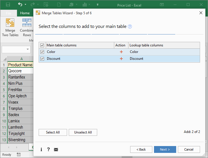 Merge Excel worksheets by matching data in seconds – Excel Combine Worksheets