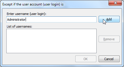 Switching the Silent BCC for Outlook off for some user accounts