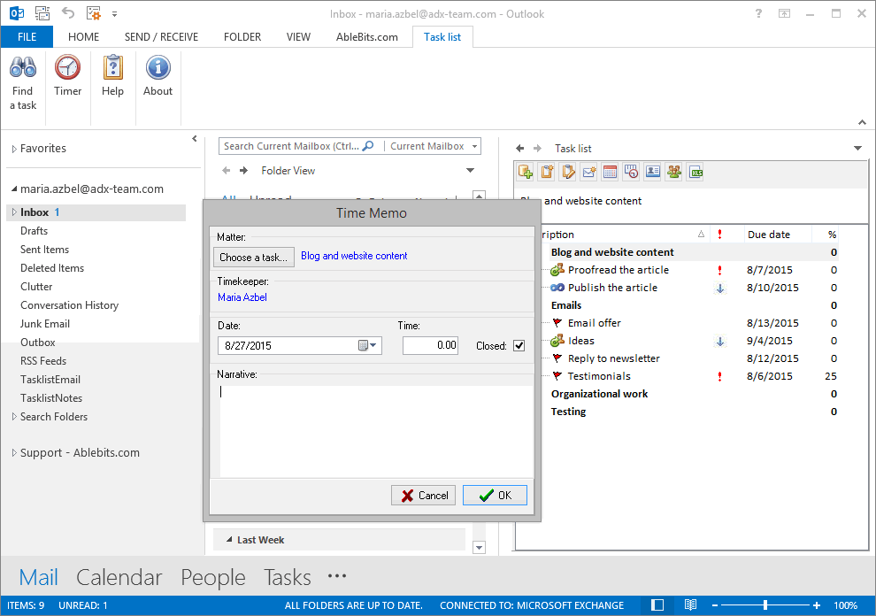 Tasklist For Outlook Display Your Outlook Tasks In A Hierarchical