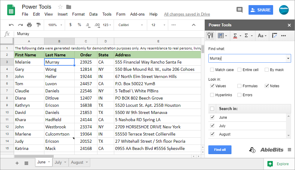 Power Tools for Google Sheets: 20+ smart tools to boost your