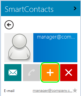 You can add the email address to Outlook contacts