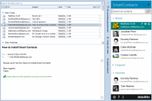 Managing contacts in Outlook 2010