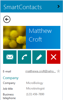 how to delete emial from outlook contact