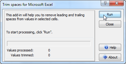 Click to view Ablebits.com Trim Spaces for Excel screenshots