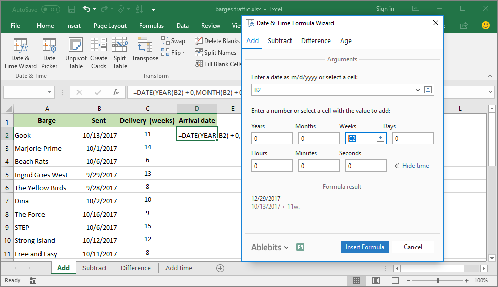 Ablebits Com Ultimate Suite For Excel 60 Professional